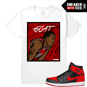 Jordan 1 Banned OG match T shirt