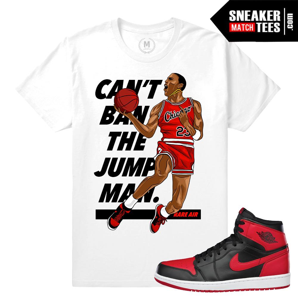 cb1b0f3660e2 Jordan 1 Banned Sneaker tees Match