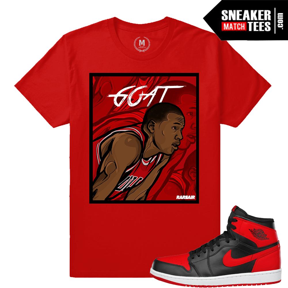 c4b1d61325ec Jordan 1 Shirts match sneakers