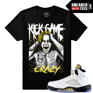 Match Sneaker tees Olympic 5s