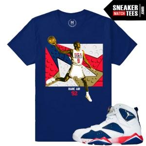 Jordan Retros Tinker Alternate 7s match t shirt