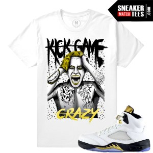 Jordan Retros Olympic 5s shirt