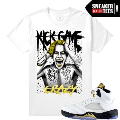 Jordan Retros Olympic 5s shirt