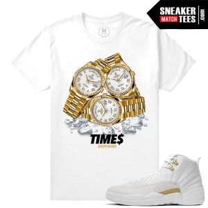 OVO 12s t shirts match Sneaker tees