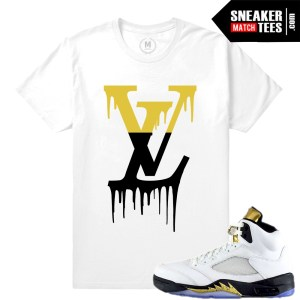 Olympic 5 Jordans Tees match