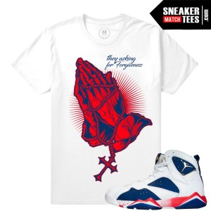 Shirts Match Retro Jordan Tinker Alternate 7s