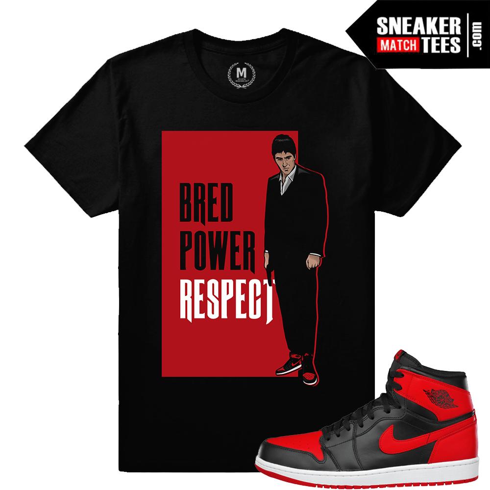 0dcb35dd31e4 Shirts matching Bred 1 Jordan Banned