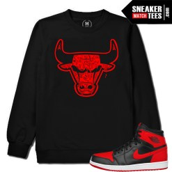 Sneaker Match Banned 1s Crewneck Sweater