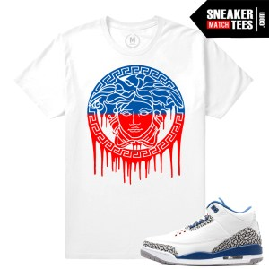 Sneaker Shirts match True Blue 3s
