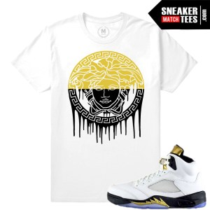 Sneaker shirts Match Jordan 5 Olympic