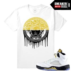 Sneaker shirts Match Jordan 5 Olympic