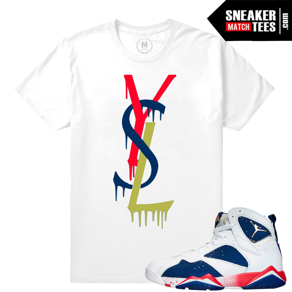 c4759a1fcb8 Jordan 7 Low shirts to match Bordeaux 7 + Concord 7 + Taxi 7 sneakers