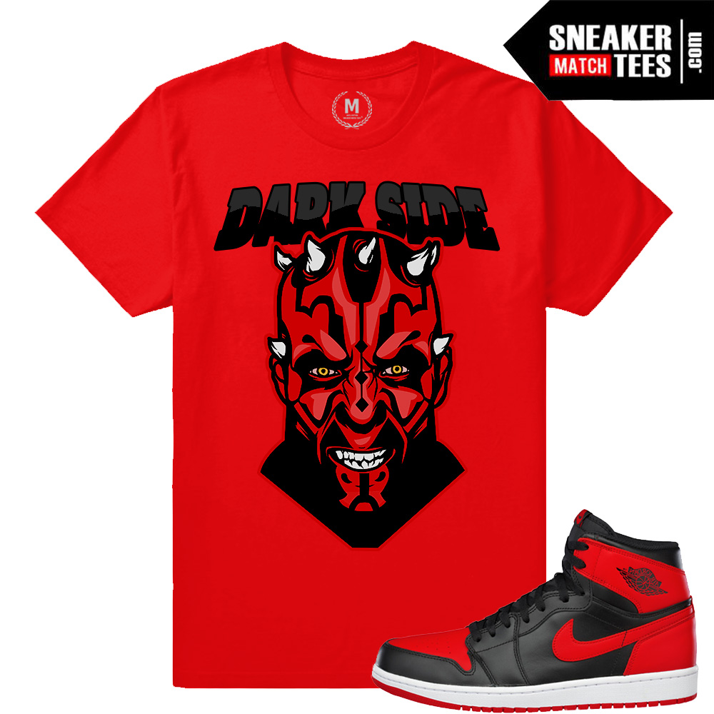 Sneaker tees matching Banned 1 shirts