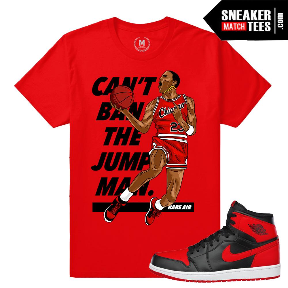57a825cb7ce T shirt match Jordan 1 Banned | Sneaker Match Tees