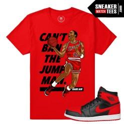 T shirt match Jordan 1 Banned