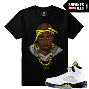 T shirt matching Jordan 5 Olympic sneakers