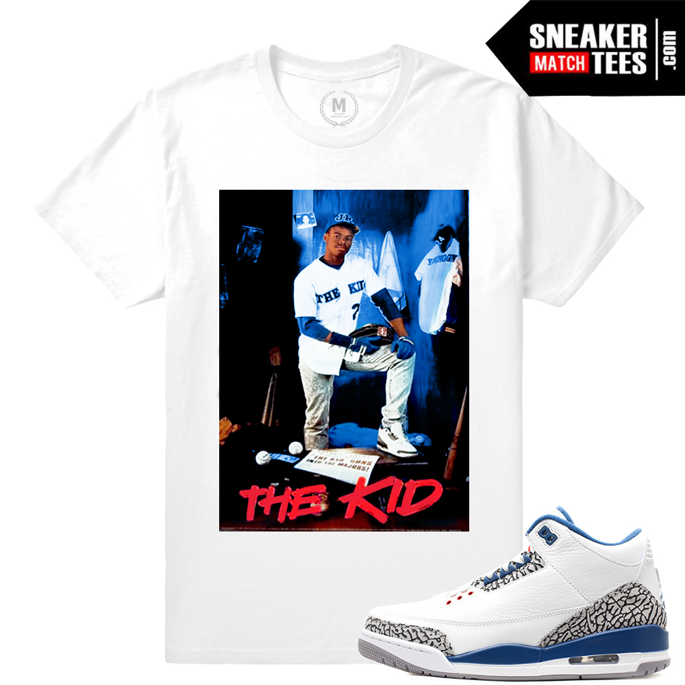 uk availability 1fb5e bb2bd True Blue 3s OG t shirt match