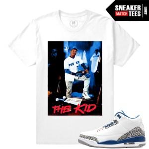 True Blue 3s OG t shirt match