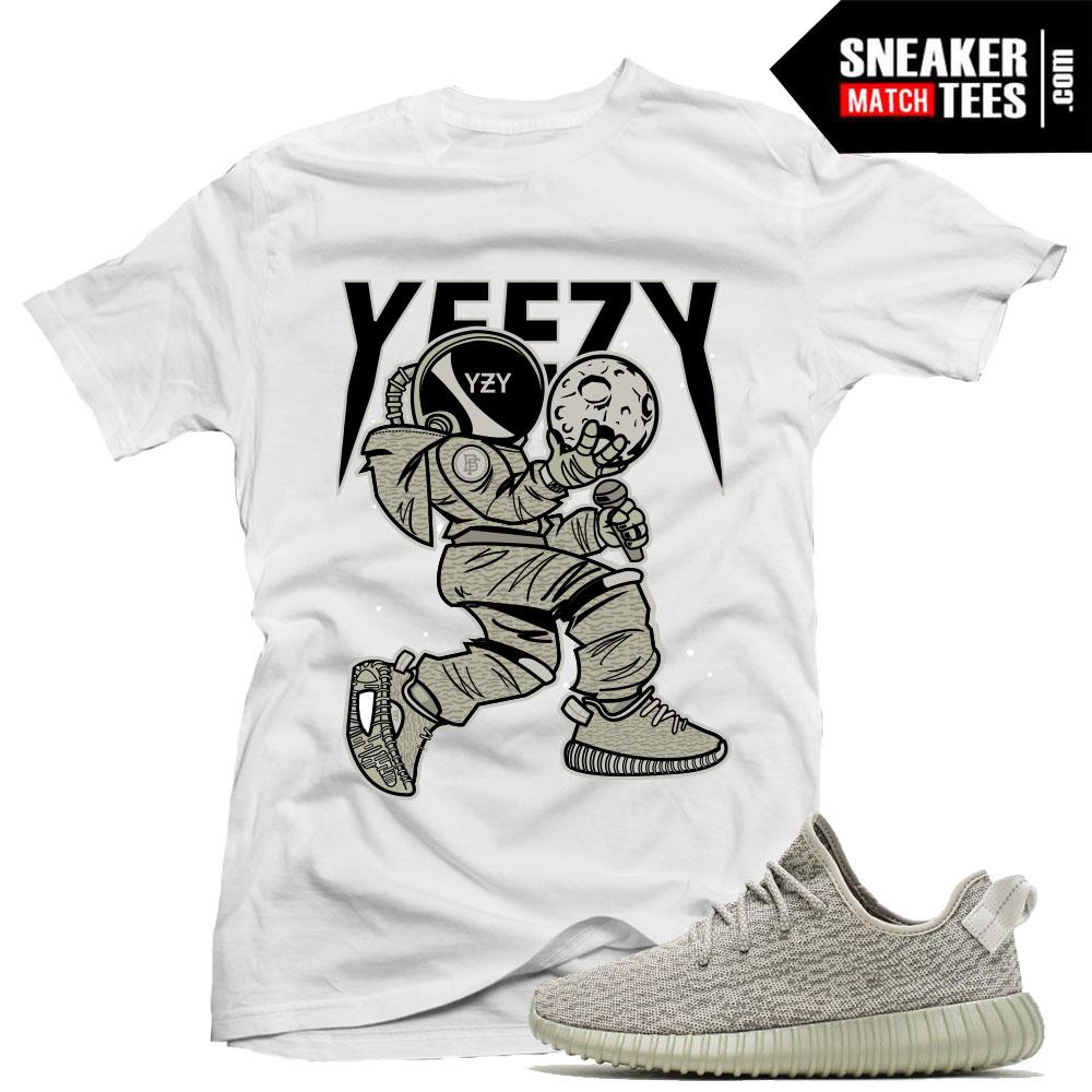2d8c442aa77 Yeezy Boost 350 Monrock Matching T shirt