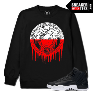 Crewneck Match Jordan 12 Neoprene Sneakers
