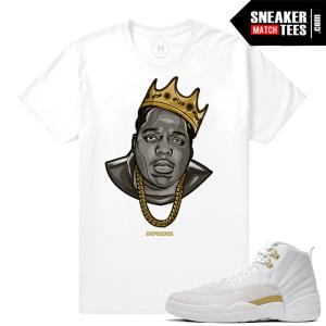 Jordan 12 OVO T shirt Biggie