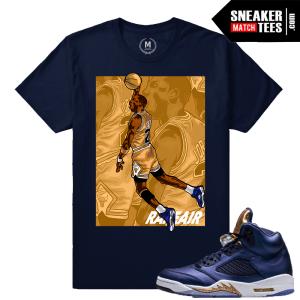Jordan 5 Bronze Jordan T shirts