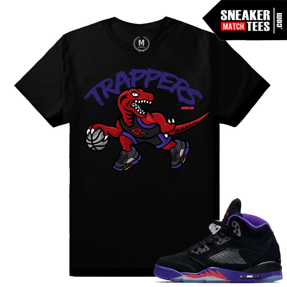 0e95781d23a4fc Jordan 5 Raptors matching t shirt