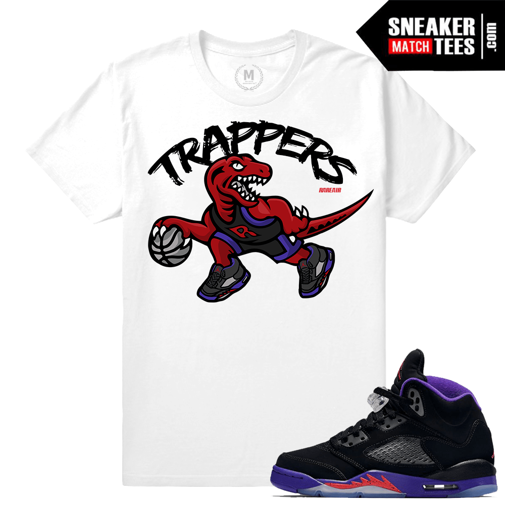 Jordan 5 T shirt Match Raptor 5s