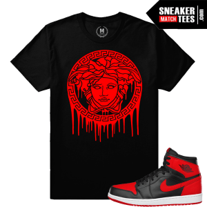 Medusa T shirt Match Jordan 1 Banned