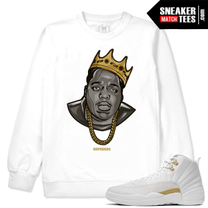 OVO 12 White Sweatshirt Biggie