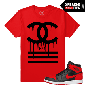 Shirts match Jordan Sneakers Retro 1 Banned