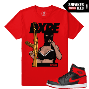 Sneaker Shirts match Banned 1 T shirts