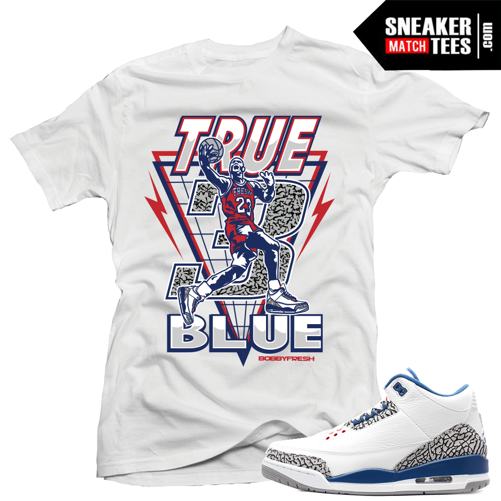 555c30535bc15b Sneaker Tees Match True Blue 3s