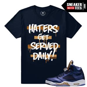 Sneaker Tee Bronze 5 Jordan Retro
