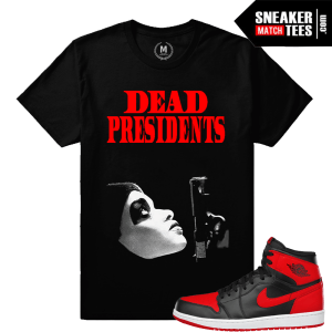 Sneaker tees Match Jordan Retro 1 Banned