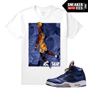 T shirt match Bronze 5 sneaker tees