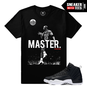 T shirt Match Jordan 12 Nylon