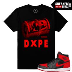T shirts match Banned 1 Jordan Shoes