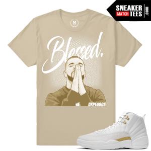 T shirts matching OVO 12s Drake Jordans