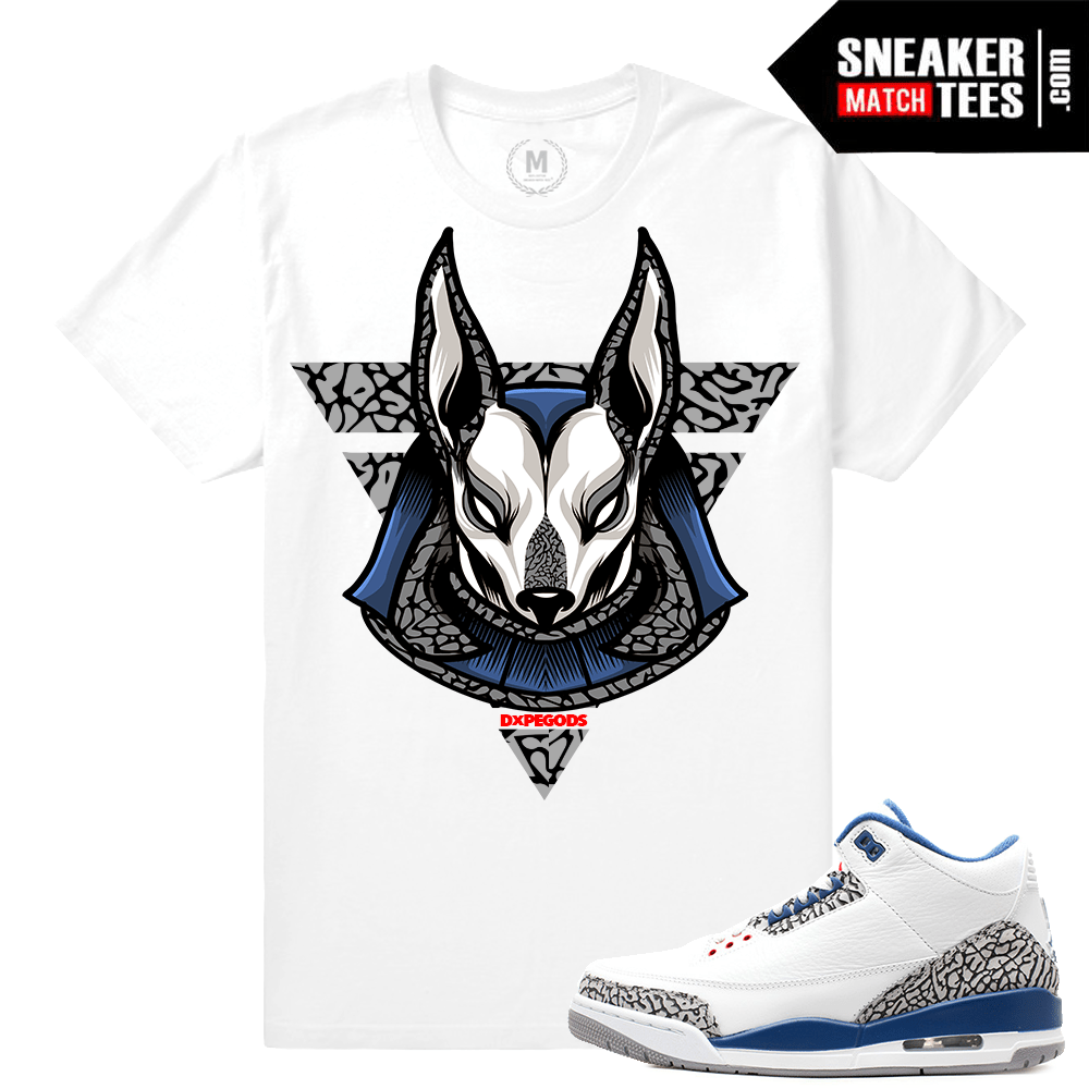 eaca3e2eb70cd8 True Blue 3 Matching Sneaker tee