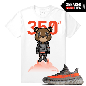 Yeezy Boost 350 V2 Beluga Match T shirt