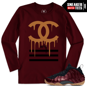 Maroon Foams T shirt