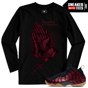 Match Foamposite Night Maroon