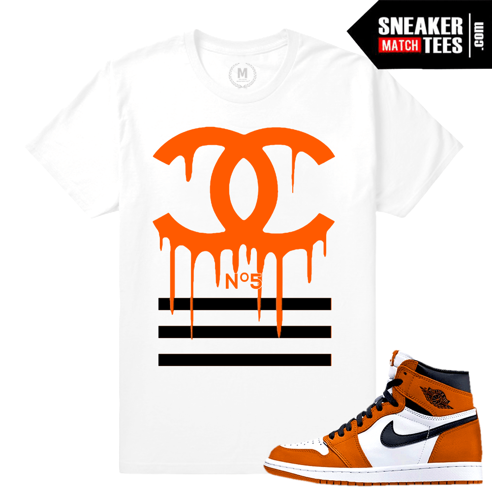 Match Jordan 1 Shattered Backboard Reverse shirt