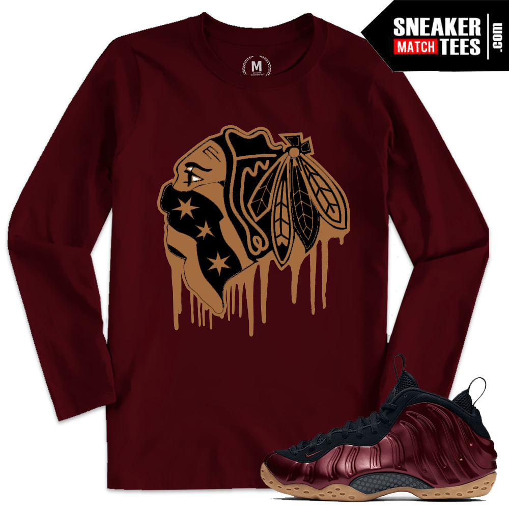 4dc092d7ae9 Night Maroon Nike Foams T shirt