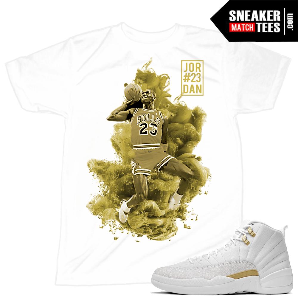 3decd88e0bba OVO 12s match Sneaker tee shirt