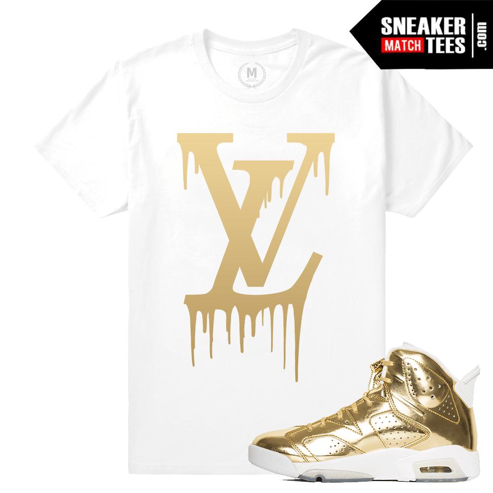 47acd7187dc Pinnacle Gold 6s T shirt   Sneaker Match Tees Pinnacle 6s