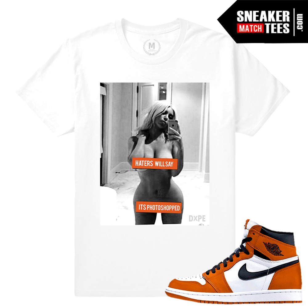 Shirt match Jordan 1 Shattered Backboard Reverse