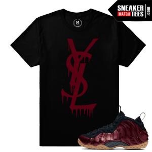 Sneaker Shirt Maroon Foams