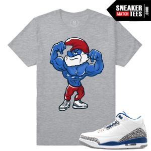 Sneaker tee Match Jordan True Blue 3
